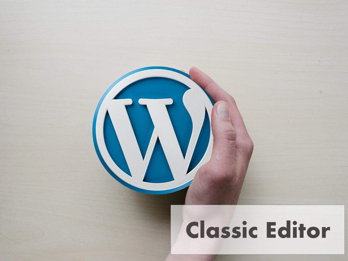 WordPressの旧エディターに戻す方法【Classic Editor】